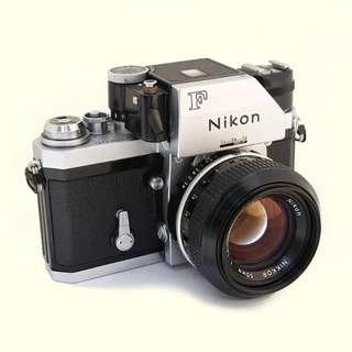 Nikon FTN with Nikon 50mm f1.4