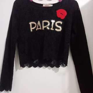 Paris Crop Top