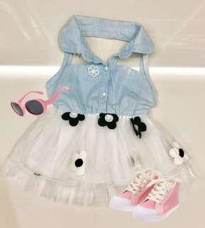 Baby Girl Fashionable Dress