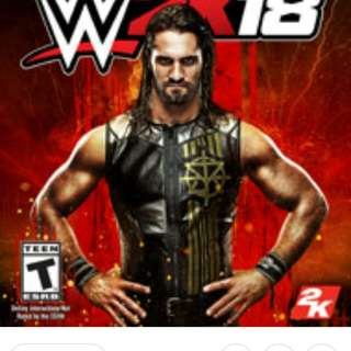 Pre owned wwe 2018