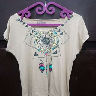 Dreamcatcher crop top