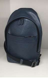 Coach charles pack with baseball stitch - denim blue