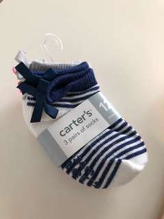 Brand New Carter's Baby Socks (12-24 Months)