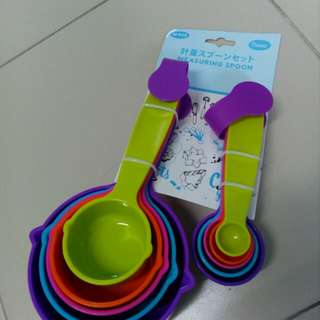 Measuring Cup & Spoon set