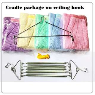 cradle for ceiling hook