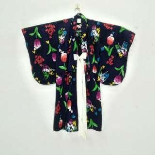 Japanese Brand Japanese Made Kimono for Girls/Kids. 100% Cotton