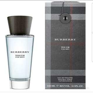 Brand New Burberry Touch Men Perfume 100ml Tester set
