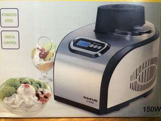 Fully automatic ice cream maker