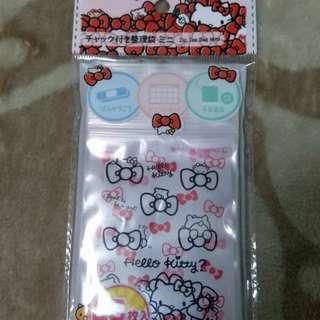 Hello Kitty 整理袋70mm x100mm25個  20元包郵