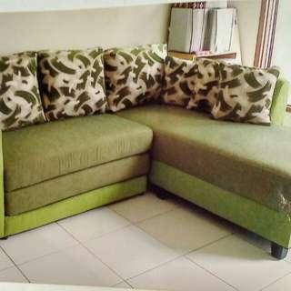 Promo tanpa dp sofa L putus