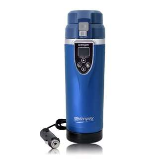 FCC-350LC Adjustable Temperature Car Boiling Mug Electric Kettle Boiling Vehicle Thermos