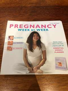 Pregnancy Week by Week Journal Book #Baby30