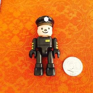 Police Brick Figure