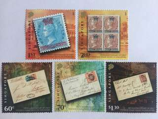 Sinagpore 2017 straits settlement stamps mnh