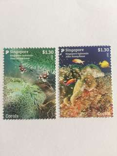 Singapore 2017 Indonesia joint issue mnh