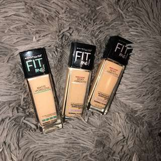 Maybelline Fit me foundation💙💙
