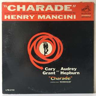 Henry Mancini ‎– Charade (1963 USA Original - Vinyl is Excellent)