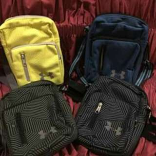 Over runs under armour sling bag