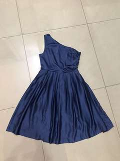 Body&Soul dress tarzan biru