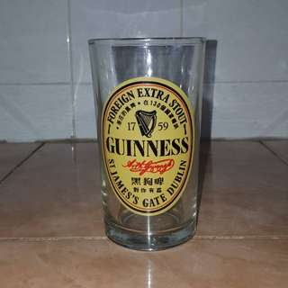 Guinness glass cup