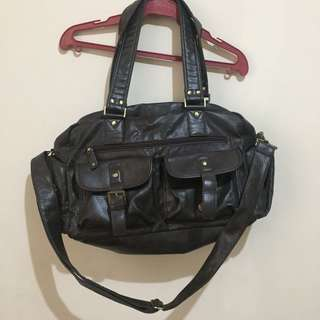 DC Leather Bag