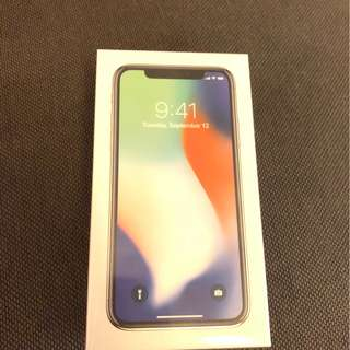 iPhone X 256GB Silver 銀色
