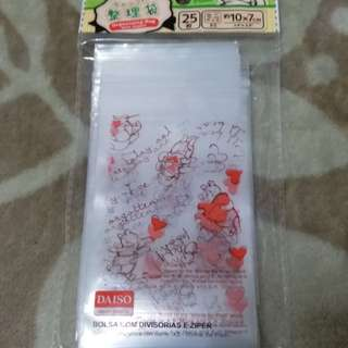 winnie the pooh   整理袋25枚  20元包郵