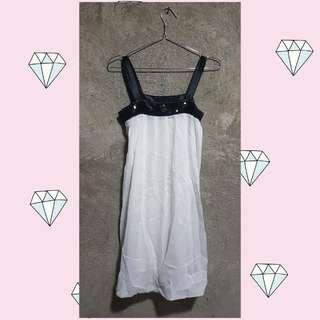 Cute White Dress w/ Sequins