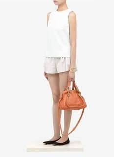 mint condition storebought Chloe Paraty small in tan - comes complete