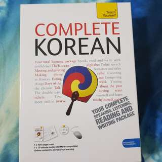 Complete Korean Book & CD