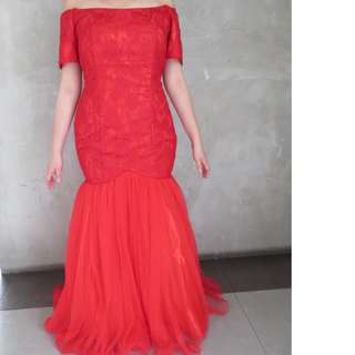 RED GOWN - gownforrent inc.