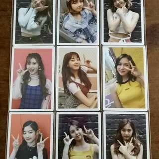 TWICE twicetagram Monograph Photocard Full Set