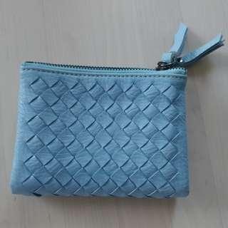 BN woven short wallet