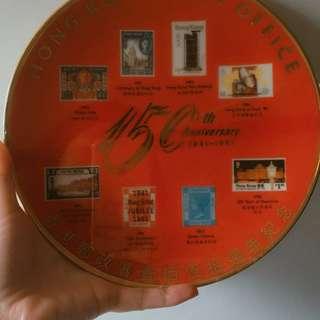 有無朋友喜歡珍藏 香港郵政150週年珍藏紀念瓷碟