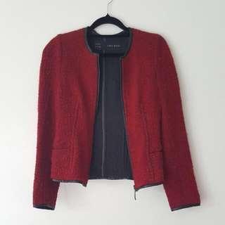 Zara Boucle Style Jacket