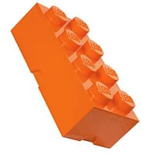 Lego 8-Stud Storage Brick - ORANGE (LS-40041760)