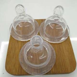 Dr Brown's teat, level 1, wide neck bottles