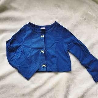 Carter's Blue Cardigan
