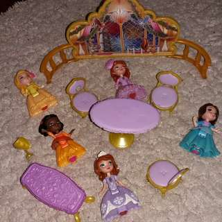 Authentic sofia the first set