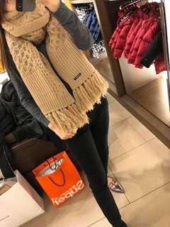 New香港現貨  折上折💥 🇬🇧英國代購 Burberry camel color scarf cashmere wool