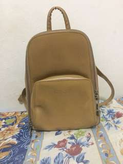 Nude Gucci inspired bagpack