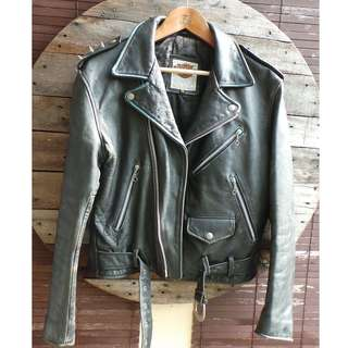 Vintage Harley Davidson Leather Jacket by Artsy Hut