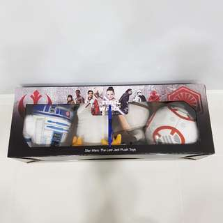 Citibank Star Wars The Resistance Plush Toys BB-8, R2-D2, Porg, Rey Not Lego Set Or Minifigures