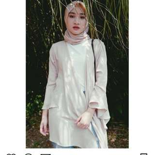 Kiara Outer beige by @shabaofficialstore