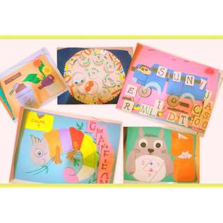 aged 3 soft book ( ready stock)