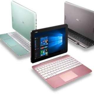 Laptop Asus Transfomer T101HA bisa kredit promo free 1x angsuran