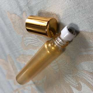 10ml roller ball glass bottle (gold)