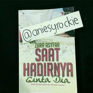 Saat Hadirnya Cinta (Novel Melayu)