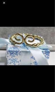 A Korean Odyssey - Geumganggo Gold Hoop Bracelet