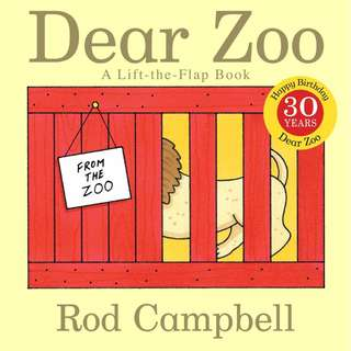 Dear Zoo A Lift-the-flap Book by Rod Campbell